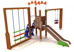 Parque infantil de 1-5 años