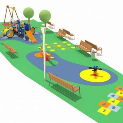 Diseño de parque