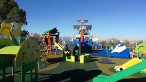 Fabricantes de parques y suelos de caucho