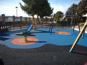 Suelos de seguridad en parques infantiles