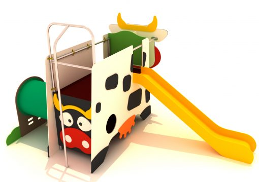 Parque infantil vaca