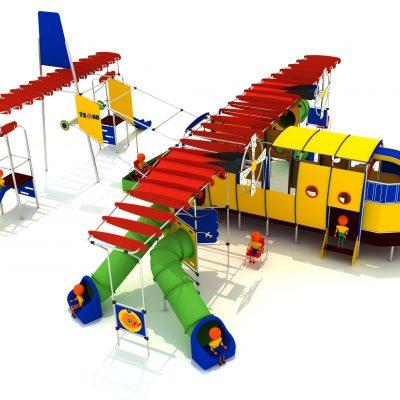Parque infantil aviocar