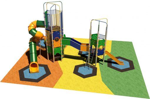 Parques infantiles castillos