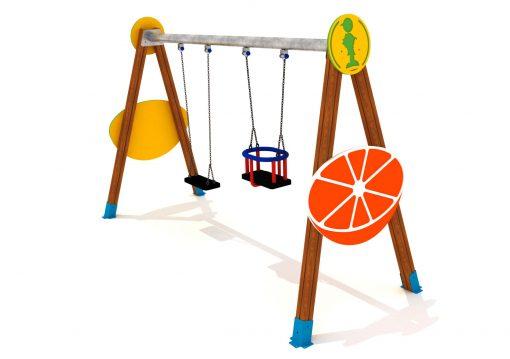 Parques Infantiles frutas
