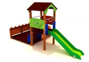 Parque infantil, casita patio