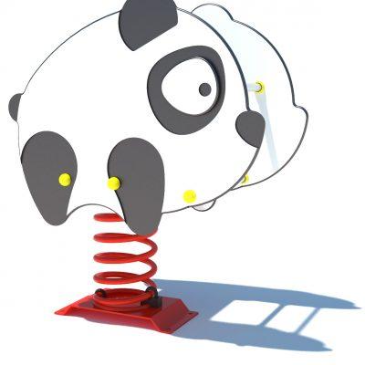 Muelle en forma de panda