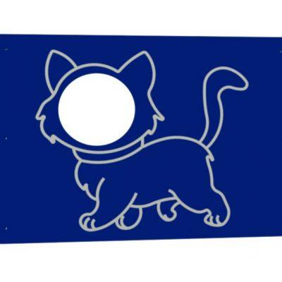 Photolall con dibujo de gato