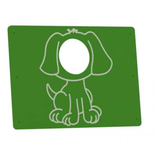 Photocall de perro para parques infantiles