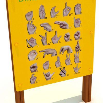 Panel interactivo de signos