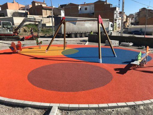 Instalación de Suelo de Caucho en Circunferencias Alcaudete (Jaén)