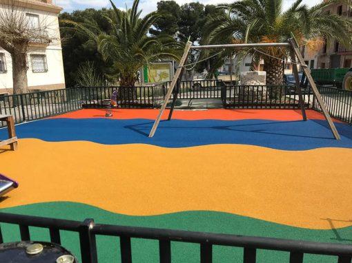 Instalación de Suelo de Caucho EPDM Albanchez de Magina (Jaén)