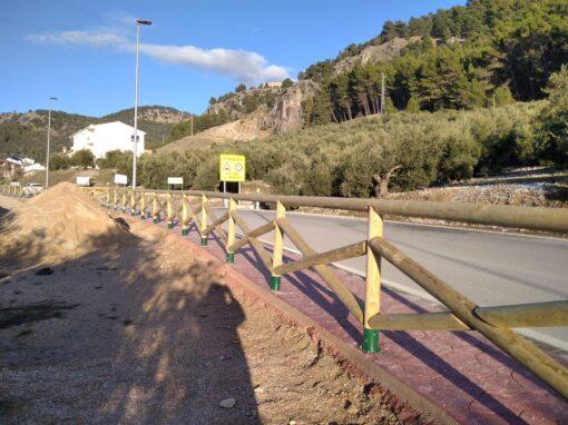 Equipamiento Medioambiental Valla Rollizo – Cazorla (Jaén)