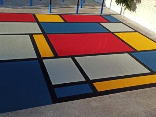 Suelo Continuo de Caucho EPDM Colegio San Blas La Puerta de Segura (Jaén)